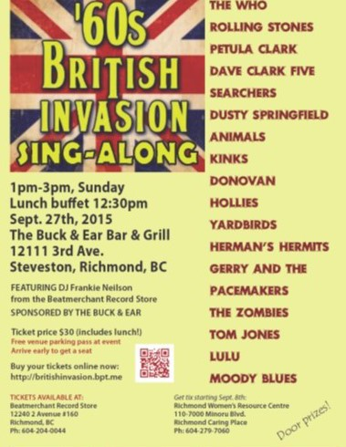 '60s British Invasion Sing-Along
