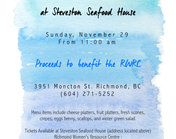 2015 Steveston Seafood House Brunch Fundraiser (Nov 2015)