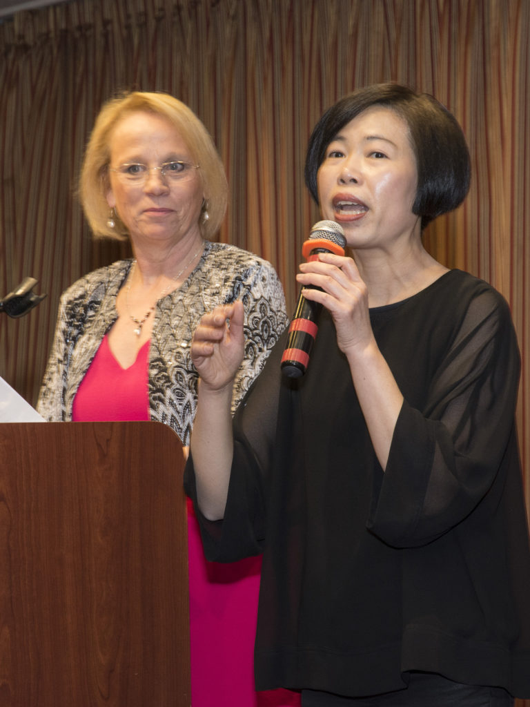 Carol Day and Florence Yau