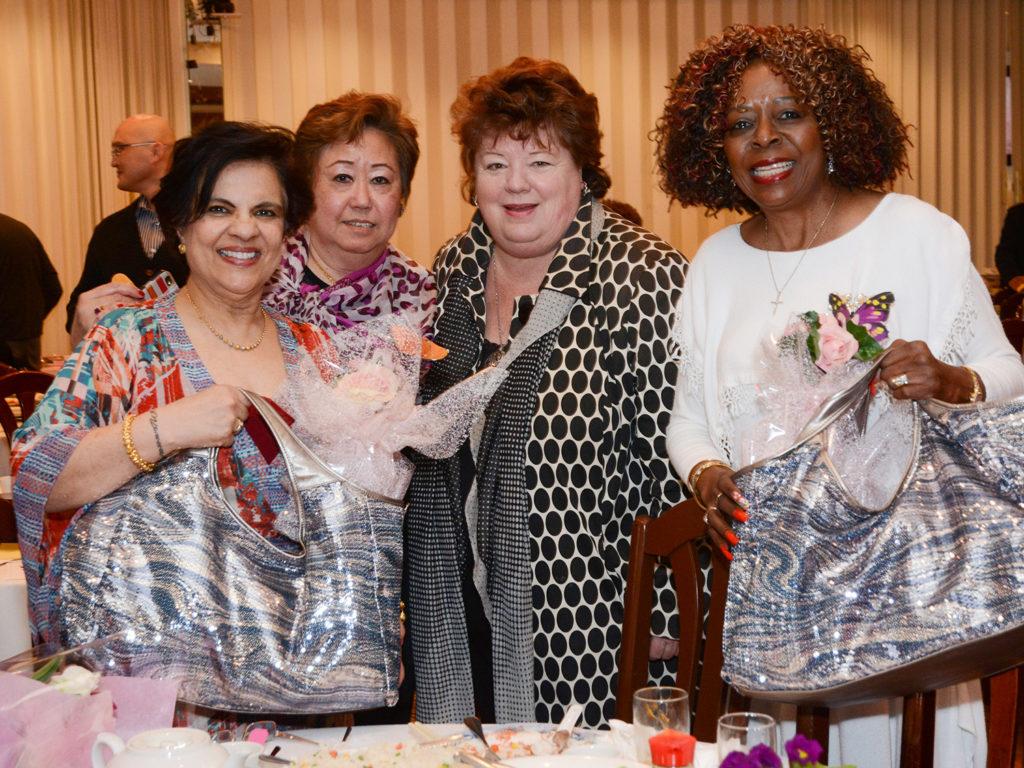 Senator Mobina Jaffer, MLA Linda Reid, Singer Sibel Thrasher
