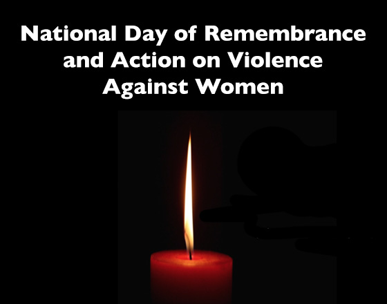 2017 National Day of Remembrance & Action on Violence Against Women