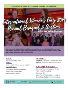 IWD 2019 poster