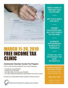 2019 Free Income Tax Clinic