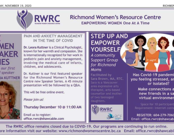 RWRC's new initiatives highlighted in Richmond News