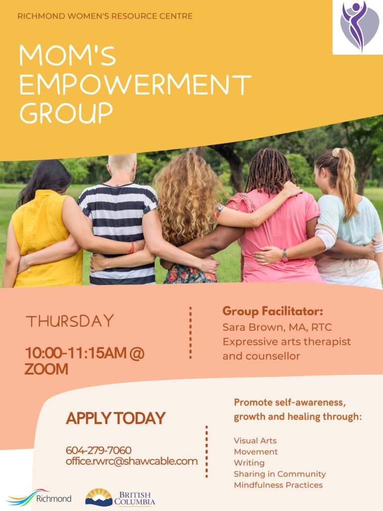 Mom's Empowerment Group Flyer