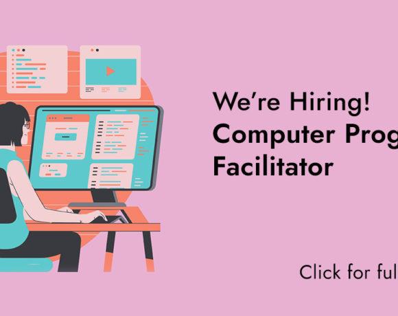We're Hiring: Computer Program Facilitator