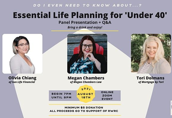 Essential Life Planning for 'Under 40s' Seminar and Panel Q+A